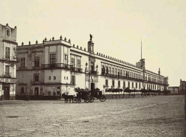 Zócalo de la ciudad de México 1872