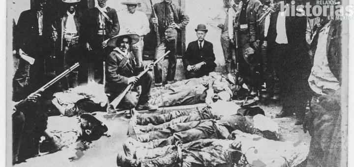 FOTOGRAFÍA ANÓNIMA, CHINOS ASESINADOS EN TORREÓN, MAYO/1911. BIBLIOTECA DEGOLYER, UNIVERSIDAD METODISTA DEL SUR, EUA