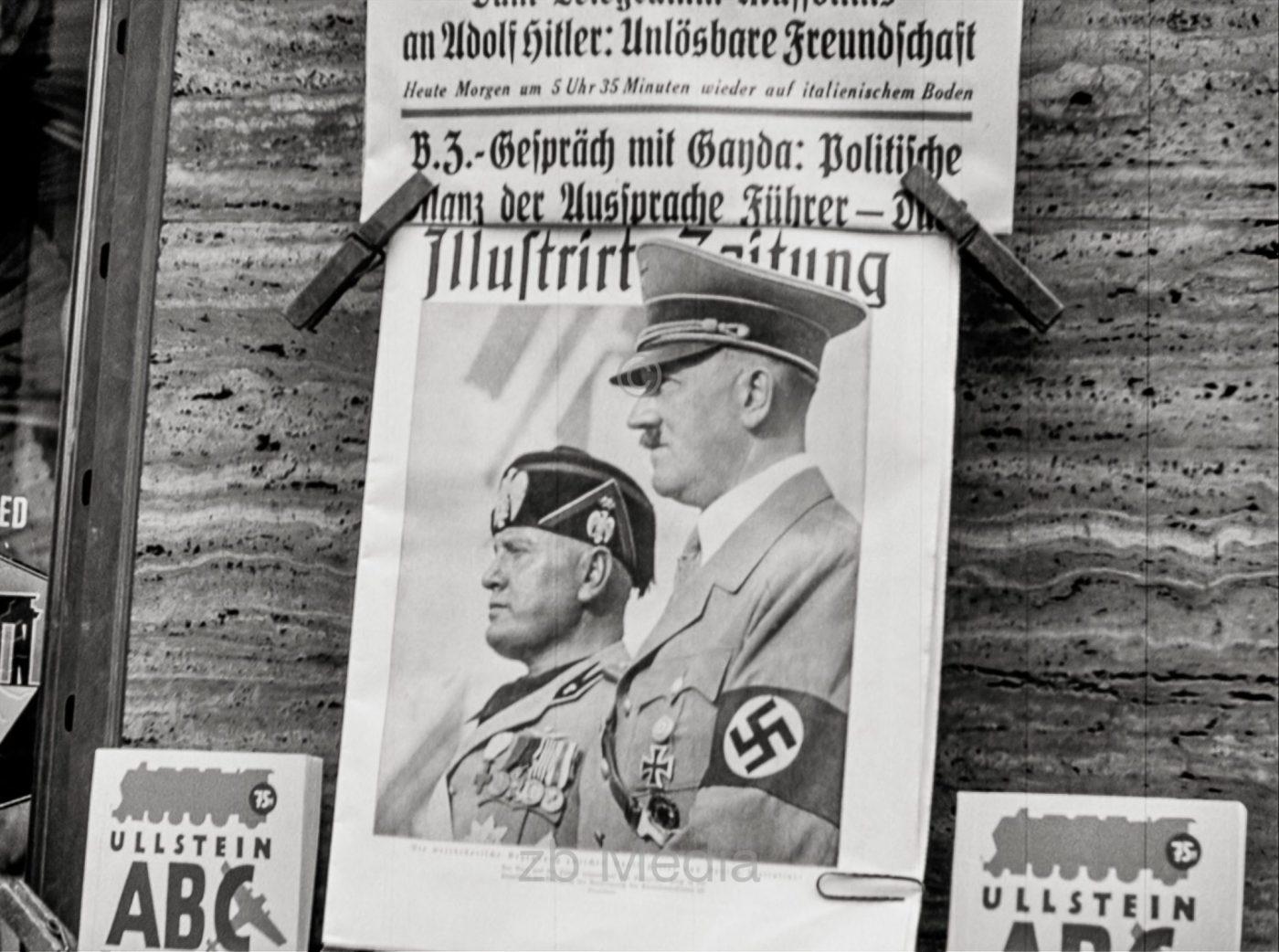 Deutschland 1937, Mussolinibesuch
