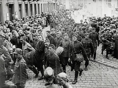 Kriegsbeginn 1939 - polnische Kriegsgefangene