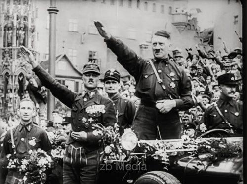 NSDAP Parteitag Nürnberg 1927, Hitlerrede
