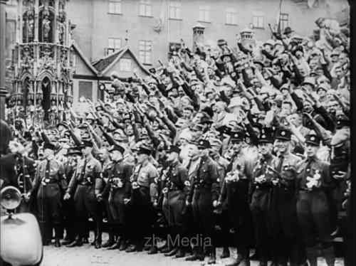 NSDAP Parteitag Nürnberg 1927, Parteianhänger