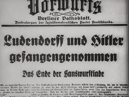 Hitlerputsch München 1923, Vorwärts