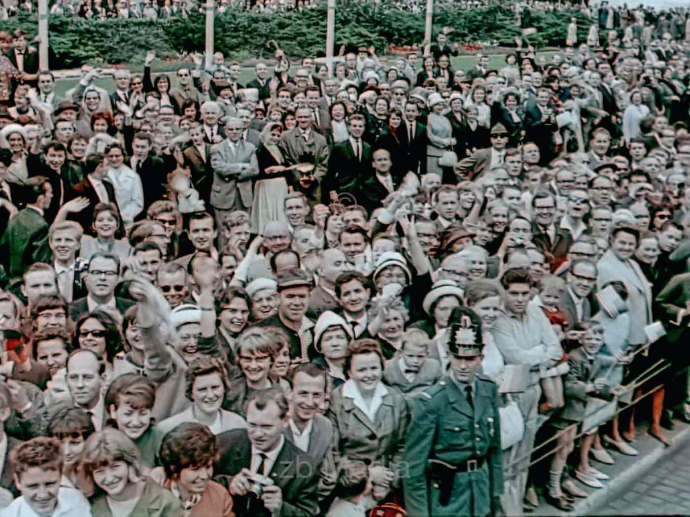 Präsident John F. Kennedy Deutschlandbesuch 1963 - Autocorso