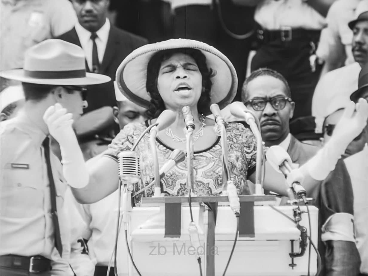 Marian, Anderson, March on Washington 1963