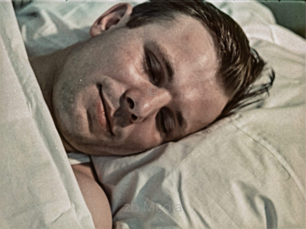 Juri Gagarin vor Raumflug