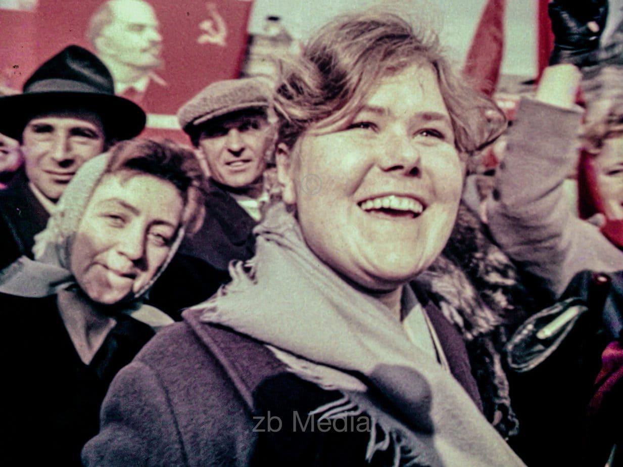 Kosmosbegeisterung Moskau 1961