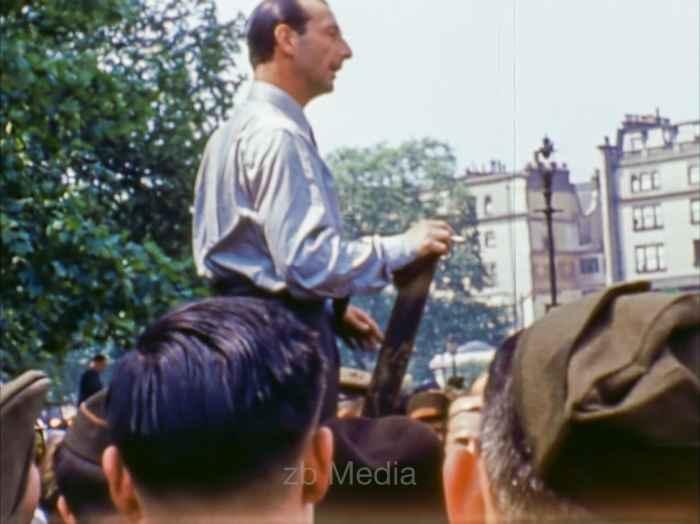 Speakers Corner, London Mai 1944