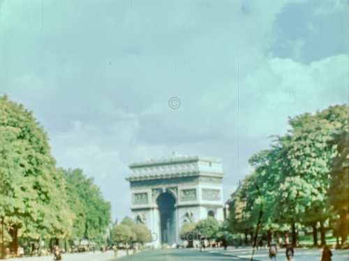 Arc de Triomphe August 1944