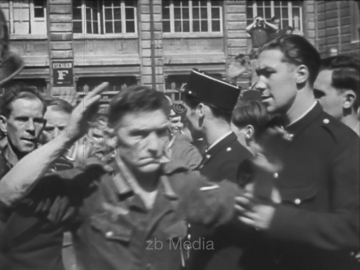 Deutsche Soldaten, Straßenkämpfe in Paris 19.8.1944
