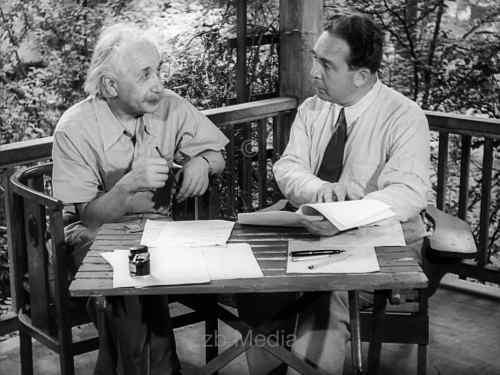 Albert Einstein und Leo Szillard