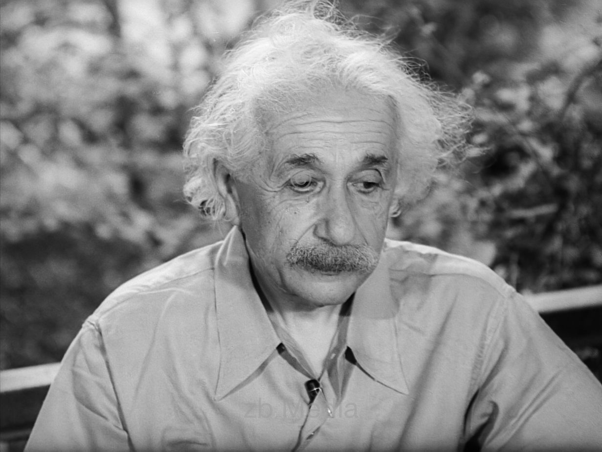 Albert Einstein in Princeton