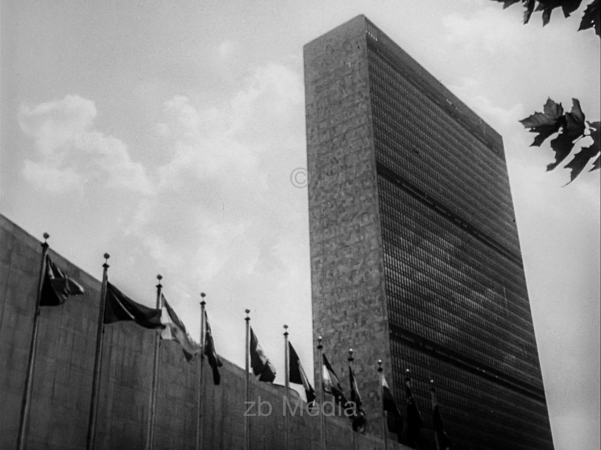 UN Gebäude New York 1964