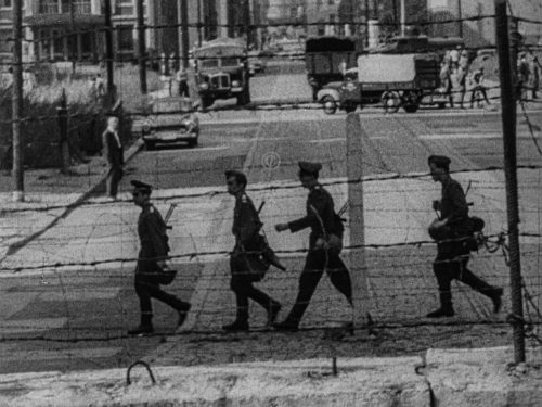 Berliner Mauer 1962