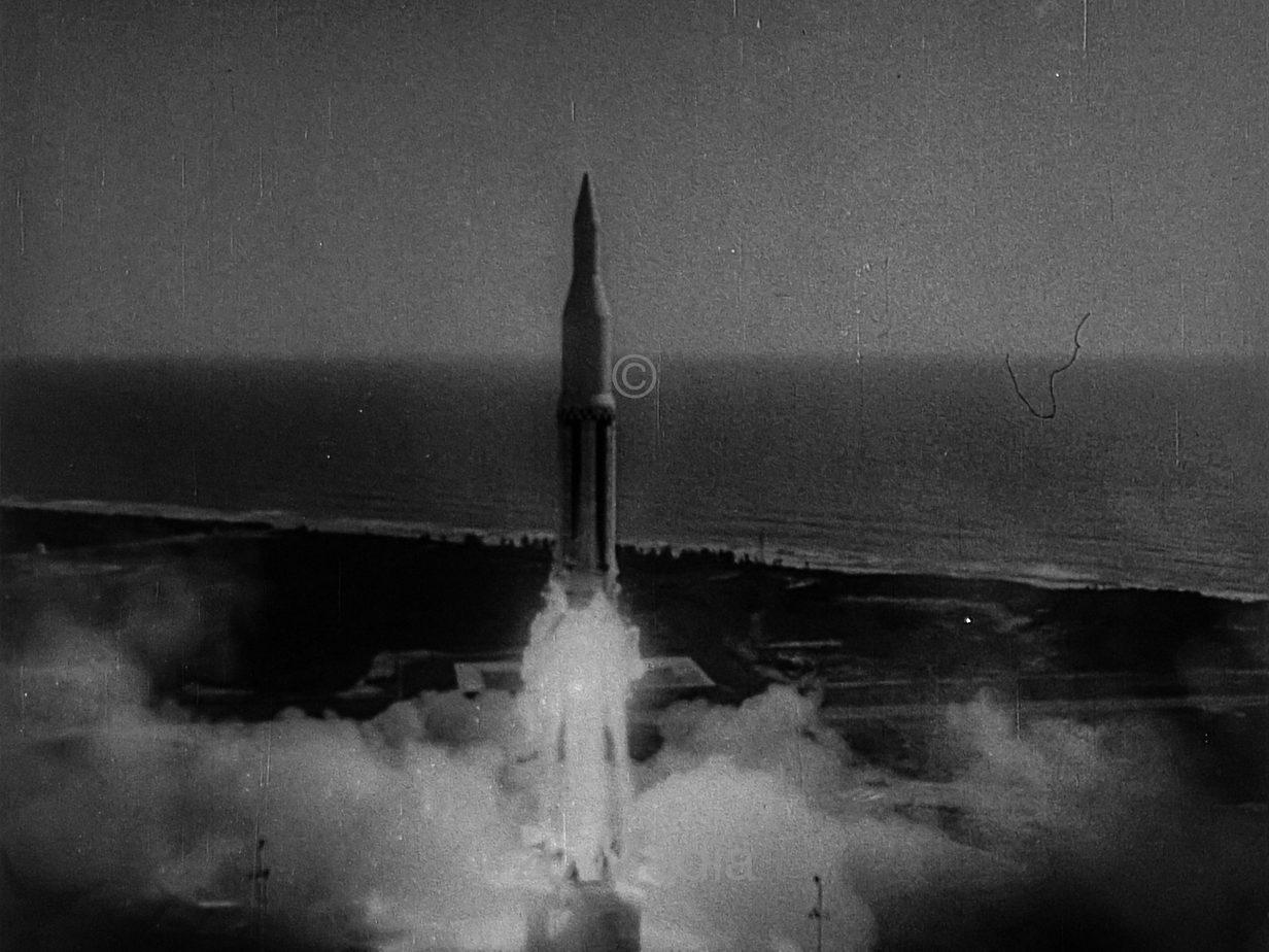 Raketenstart Saturn IB