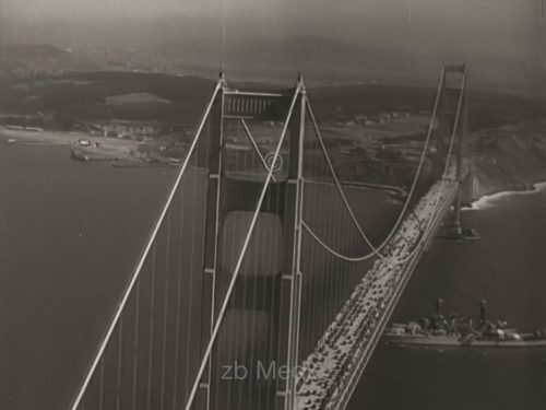 Opening of Golden Gate Bridge