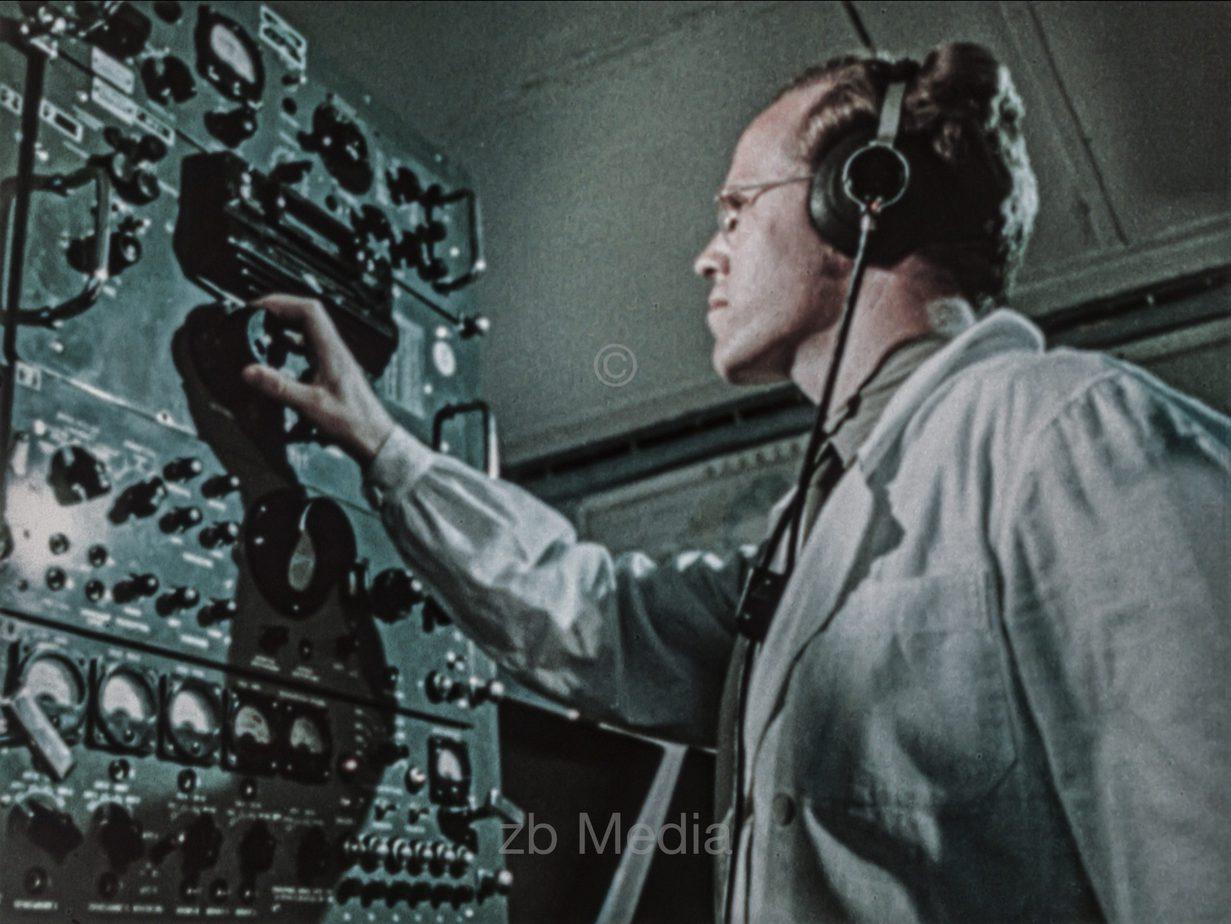 Kontrollzentrum Vostok Raumflug