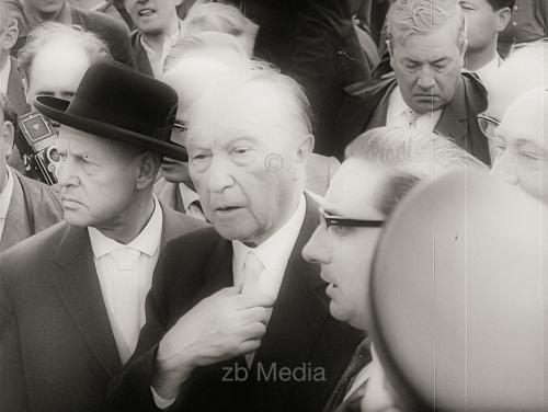 Konrad Adenauer, Berlinbesuch 1961