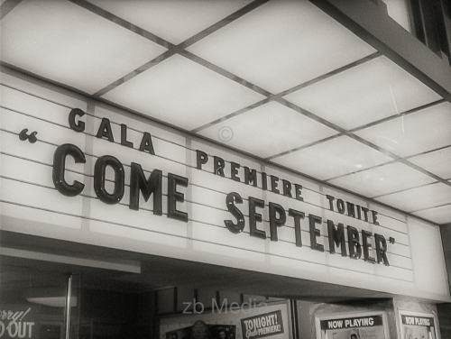 Filmpremiere von Come September in Hollywood