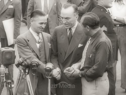 Transatlantikflug 1936, Dick Merril and Harry Richman