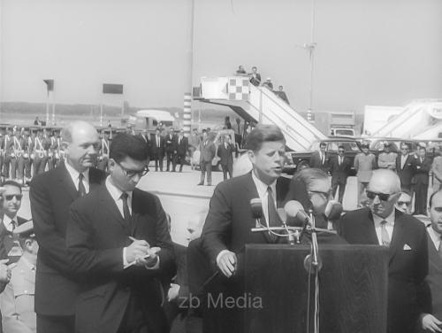 John F. Kennedy in Italien 1963