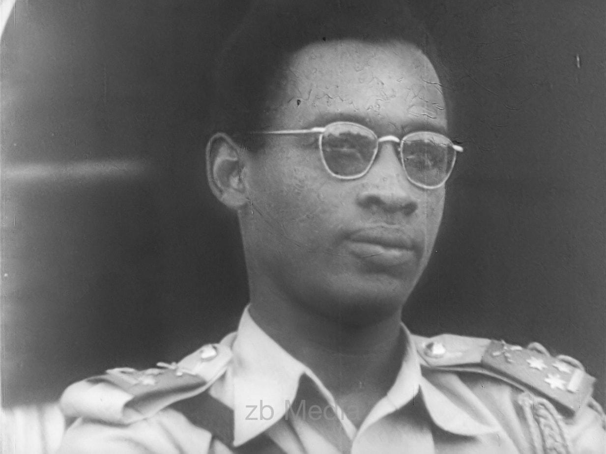Mobutu Sese Seko im Kongo 1960