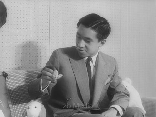 Akihito von Japan 1960