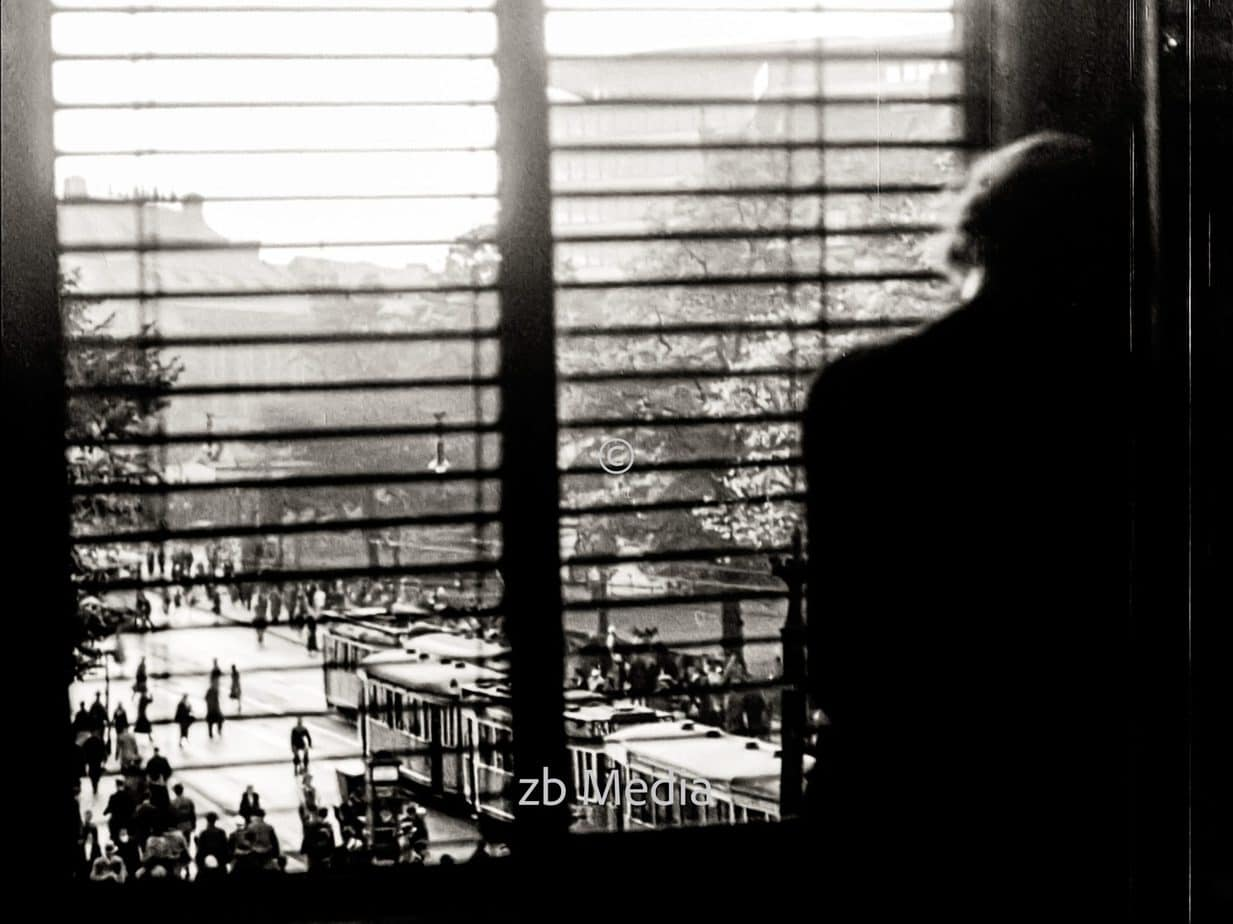 Blick aus Fenster in Berlin 1930