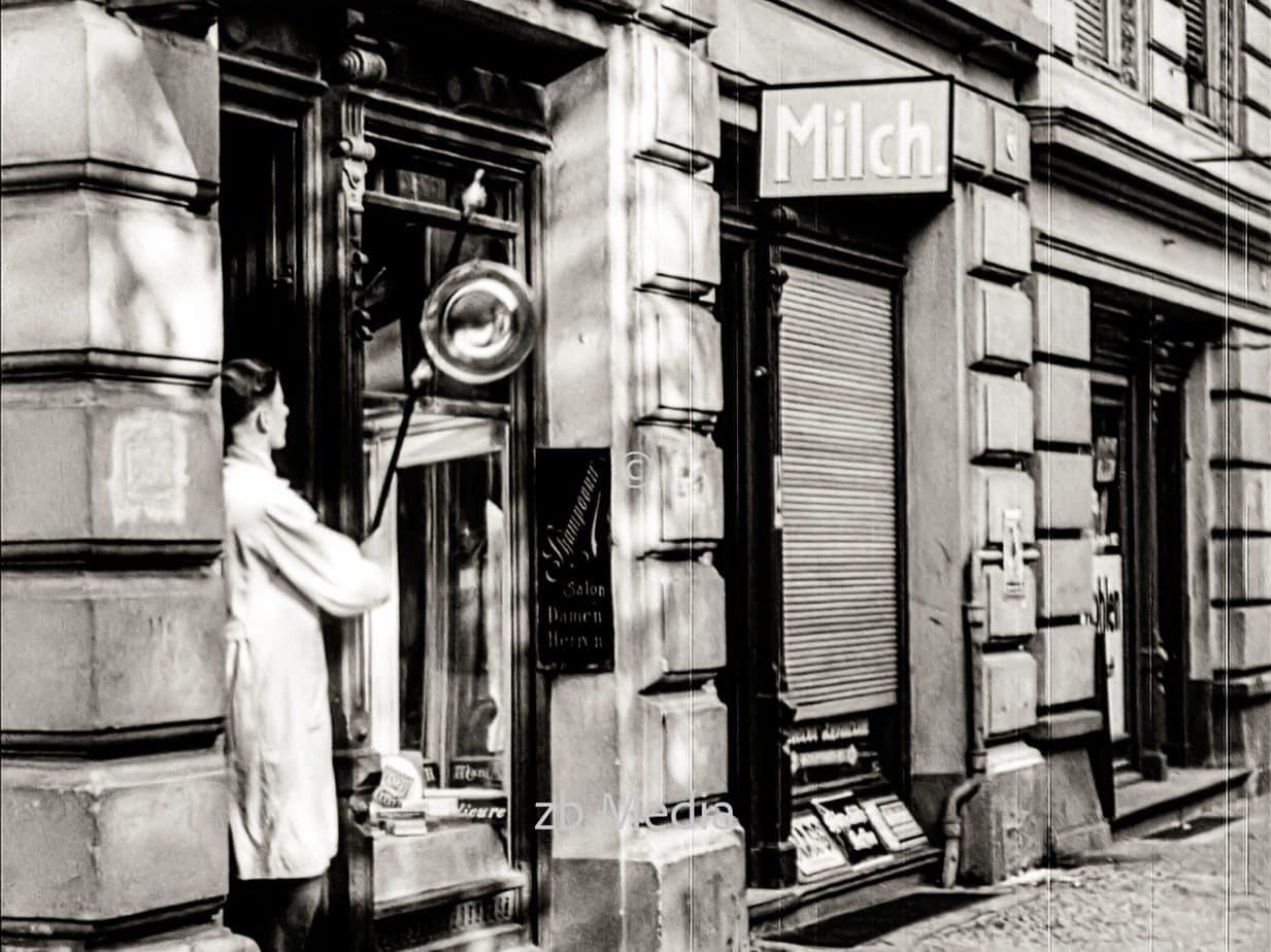 Frisörladen in Berlin 1930