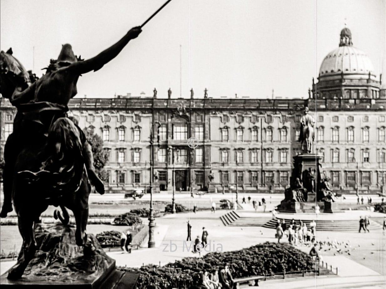 Schloss in Berlin 1930