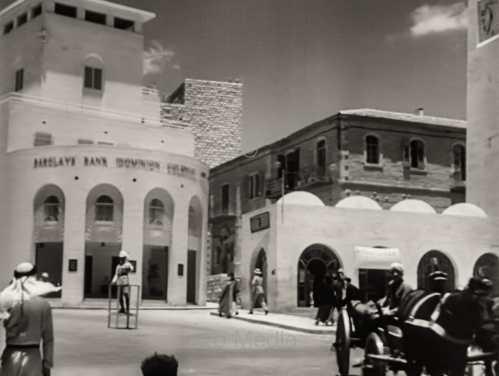 Barclays Bank in Jerusalem 1933