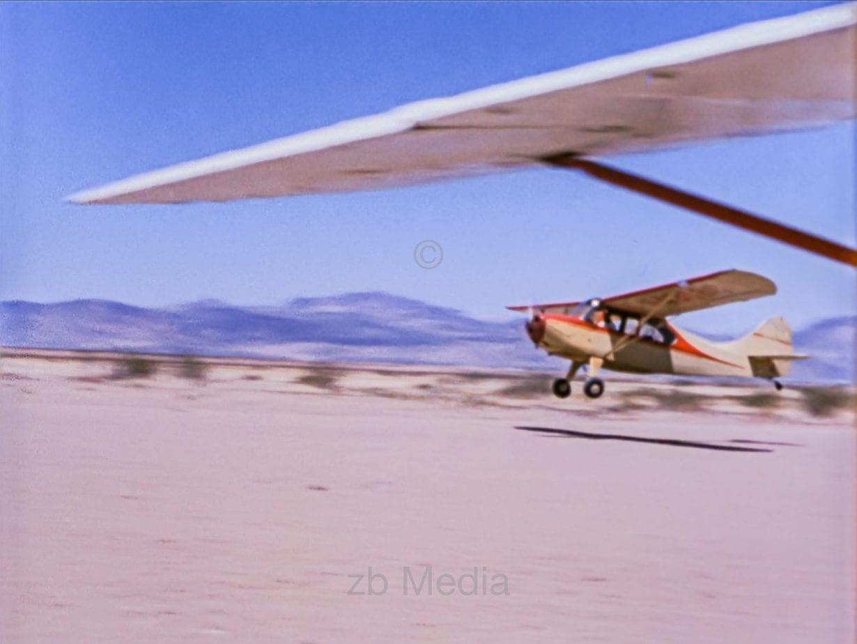 Flugzeugstart USA 1958