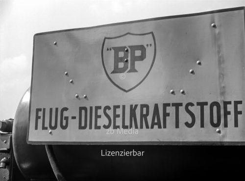 Diesel Tankwagen Flughafen Berlin Tempelhof 1937