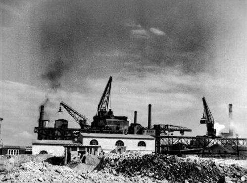 Gaswerk in Berlin 1937