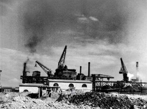 Gaswerk in Berlin 1937