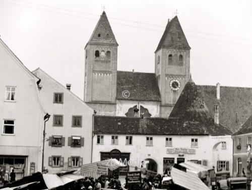 Klosterkirche Welfenmünster Steingaden 1937.