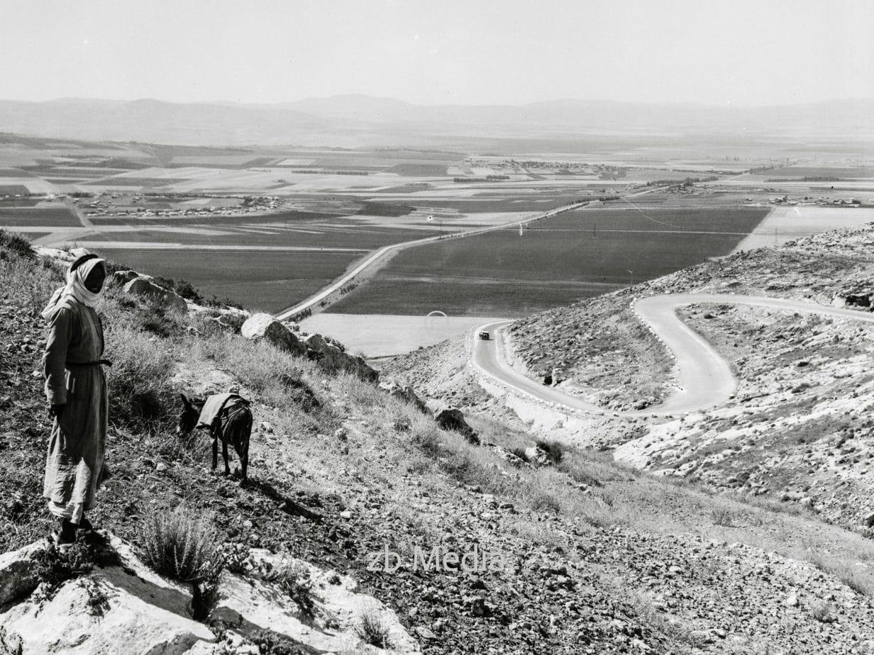Die Ebene von Esdraelon in Palästina 1935