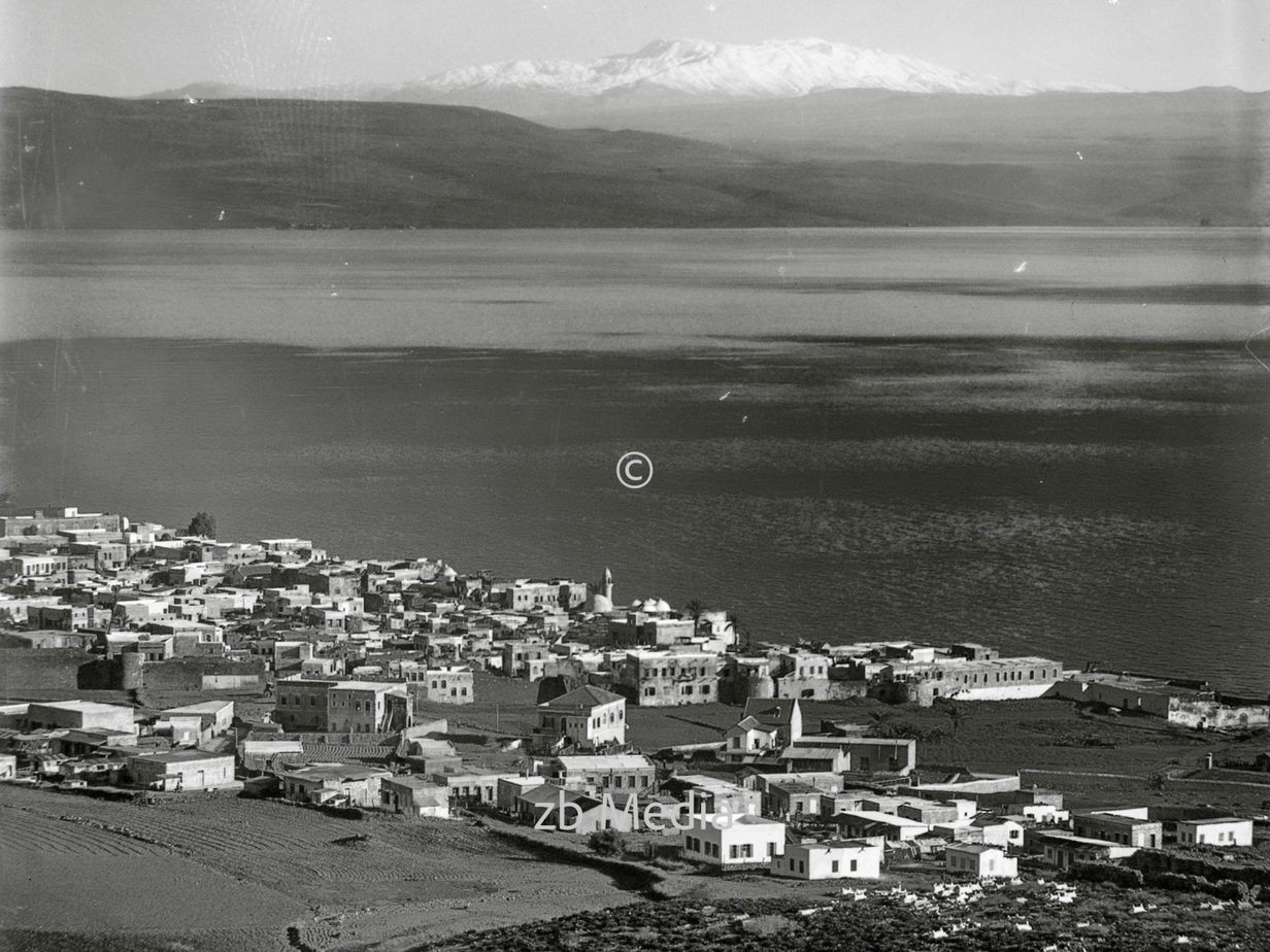 Tiberias und Mt. Hermon 1935