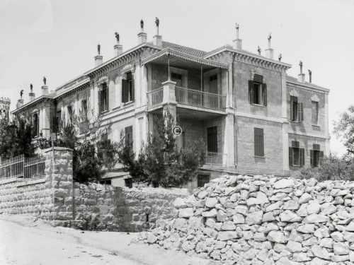 Villa in Jerusalem um 1935