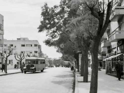 Ben Yehuda Straße Tel Aviv 1935