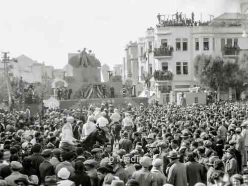 Purim-Karneval in Tel Aviv. 1934