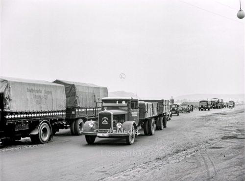 LKW Verkehr in Deutschland 1937