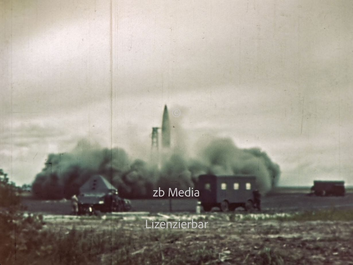 V2 Rakete Peenemünde 1944