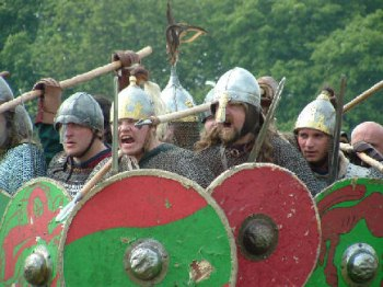 Vikings ready for battle