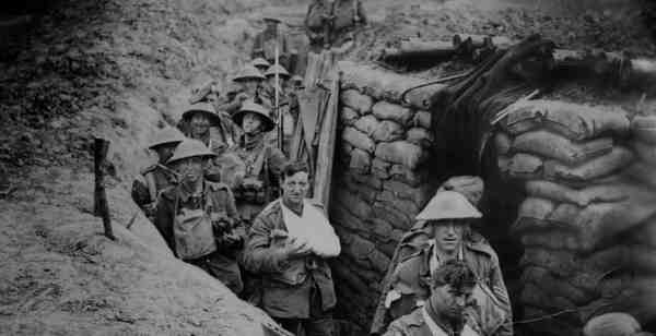 World War One timeline of events in 1915