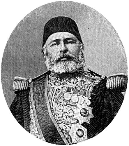Χουσεΐν Αβνί Πασάς (1819-1876), Τούρκος στρατιωτικός και πολιτικός και Μέγας Βεζίρης της Οθωμανικής Αυτοκρατορίας, επί βασιλείας του Σουλτάνου Αμπντέλ Αζίζ.