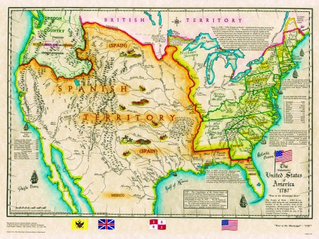 Here we will provide you with maps of the mississippi river. Original 13 States