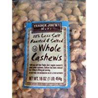 Image of Whole Cashews from Trader Joe's