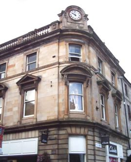 City of Glasgow Bank built in the 1870s