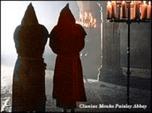 Cluniac-Monks-Paisley-Abbey